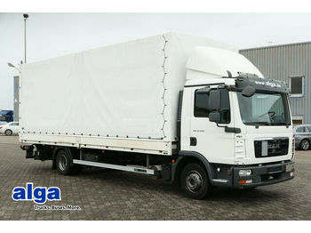 Curtainsider truck MAN 12.220 BL TGL, LBW 1.5to., 220PS, Euro 5, AHK