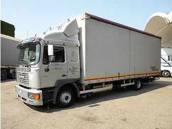 Curtainsider truck MAN 13.284: picture 1