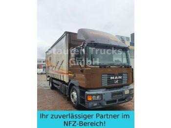 Curtainsider truck MAN 19 314 FBL F 2000 Pritsche / Plane DPF Klima LBW