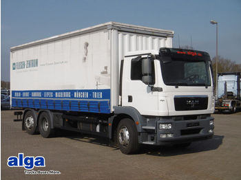 Curtainsider truck MAN 26.340 LL TGM,7350mm lang, Tüv: 04/2019!