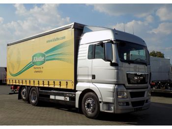 Curtainsider truck MAN 26.440 TGX