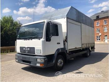 Curtainsider truck MAN L2000/90 LE 90 LC