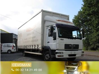 MAN LE 12.220 - curtainsider truck
