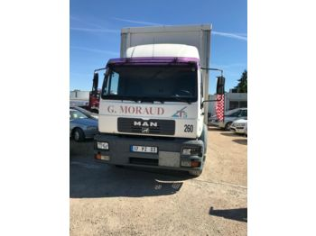 MAN LE 280 - curtainsider truck