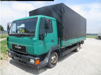 Curtainsider truck MAN L 2000 8.163: picture 1