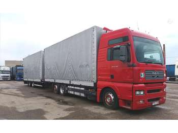 MAN TGA 24.480  - curtainsider truck