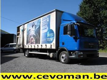 MAN TGL 12.210 - curtainsider truck