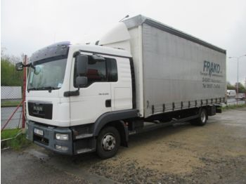 Curtainsider truck MAN TGL 12.220