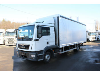 MAN TGL 12.250 4X2 BL, NEW TRUCK, SLEEPING BODY!!  - curtainsider truck