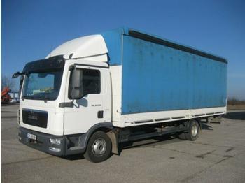 Curtainsider truck  MAN - TGL 12.250 BB 4x2 18 Pal.