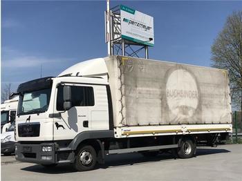 Curtainsider truck  MAN - TGL 8.180 BL