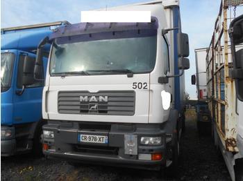 Curtainsider truck MAN TGM 18.280