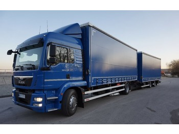 MAN TGM 18.340 - curtainsider truck