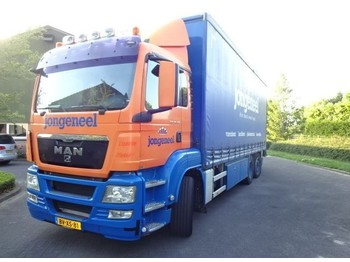 MAN TGS - curtainsider truck
