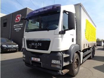 Φορτηγό μουσαμάς MAN TGS 26.360 6x4 retarder As tronic Air+