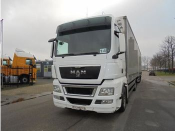 MAN TGX 18.440 XXL (2 BEDS - 2 TANKS - RETARDER) - curtainsider truck