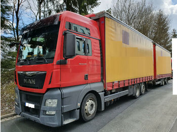 MAN TGX 25.440 XXL 6x2 Jumbo*Festaufbau*Durchlader  - curtainsider truck