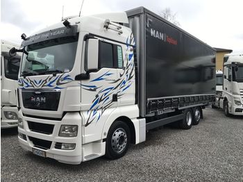 MAN TGX 26.440 - curtainsider truck