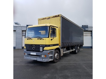 Curtainsider truck MERCEDES 2531