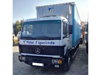 MERCEDES-BENZ 1217 left hand drive Turbo 6 cylinder 12 ton - curtainsider truck
