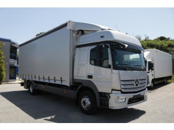 MERCEDES BENZ 15.24L Atego E6 (Tauliner) - curtainsider truck