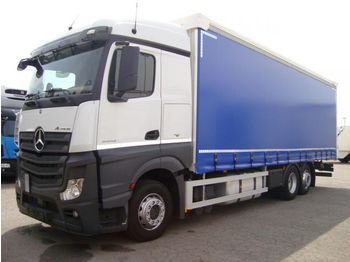 MERCEDES BENZ 25.42LS Actros E6 (Tauliner)  - curtainsider truck