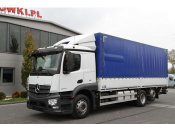 Curtainsider truck MERCEDES-BENZ 6×2 ACTROS 2540 E6 MP4 – 190.000 KM!