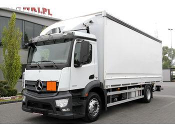 MERCEDES-BENZ ANTOS 1832 E6 TARPAULIN TAIL LIFT 190 000 KM!!! - curtainsider truck