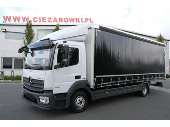 MERCEDES-BENZ ATEGO 1221 E6 TARPAULIN CURTAINSIDE - curtainsider truck
