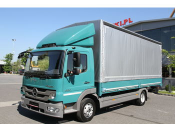Curtainsider truck MERCEDES-BENZ ATEGO 824: picture 1