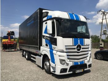 Curtainsider truck MERCEDES-BENZ Actros 2542: picture 1