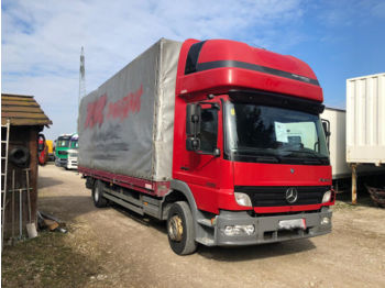 Curtainsider truck MERCEDES-BENZ Atego 1222