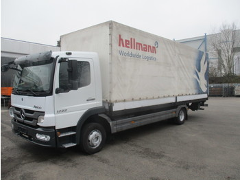 MERCEDES-BENZ Atego 1222 L BlueTec5 - curtainsider truck