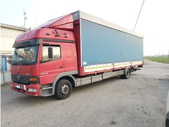 Curtainsider truck MERCEDES-BENZ Atego 1228