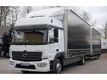 MERCEDES-BENZ Atego 1530 - curtainsider truck