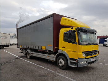 MERCEDES-BENZ atego - curtainsider truck