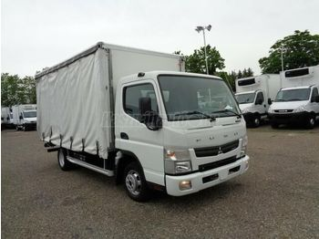 MITSUBISHI CANTER 3C13 P+P - curtainsider truck