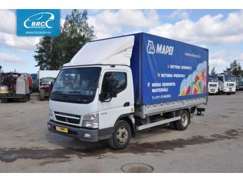 Curtainsider truck MITSUBISHI Canter 7C15