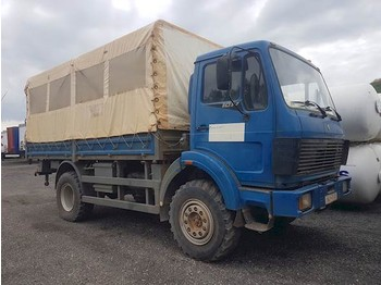 Curtainsider truck Mercedes-Benz 1017A 4X4