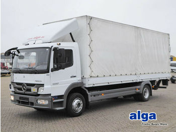Curtainsider truck Mercedes-Benz 1222 L Atego/7,1 m. lang/AHK/LBW
