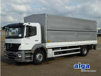 Mercedes-Benz 1829 Axor, 7.400mm lang, 2to. LBW, Klima, Luft  - curtainsider truck