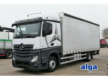 Curtainsider truck Mercedes-Benz 1836 L Actros, 7.800mm lang, gardine, LBW 1,5to.