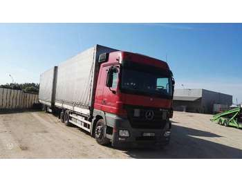 Curtainsider truck Mercedes-Benz 2544