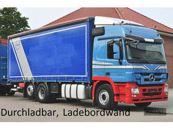 Mercedes-Benz 2544 Actros Plane, Ladebordwand, LBW  - curtainsider truck