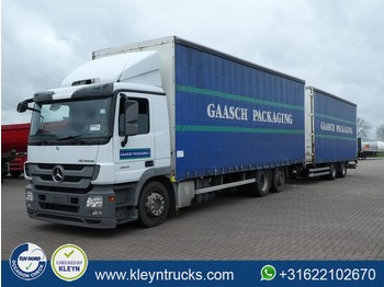 Mercedes-Benz ACTROS 2541 L 6x2 euro 5 combi - curtainsider truck