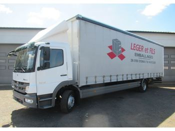 Curtainsider truck Mercedes-Benz ATEGO 1218