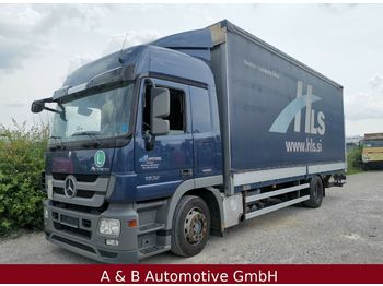 Curtainsider truck Mercedes-Benz Actros 1832 * EEV * LBW * Jumbo: picture 1