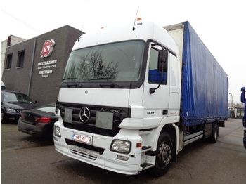 Curtainsider truck Mercedes-Benz Actros 1832 Eps