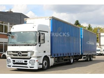 Curtainsider truck Mercedes-Benz Actros 1841 MP3 Jumbo Volumen ZUG/Hubdach