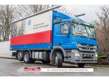Curtainsider truck Mercedes-Benz Actros  2541L 6x2 Radst. 4,1m TOP!